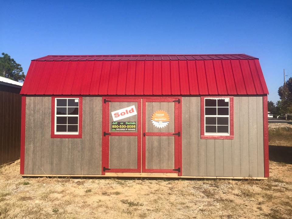 Side Lofted Barn (SLB) - Premier Buildings