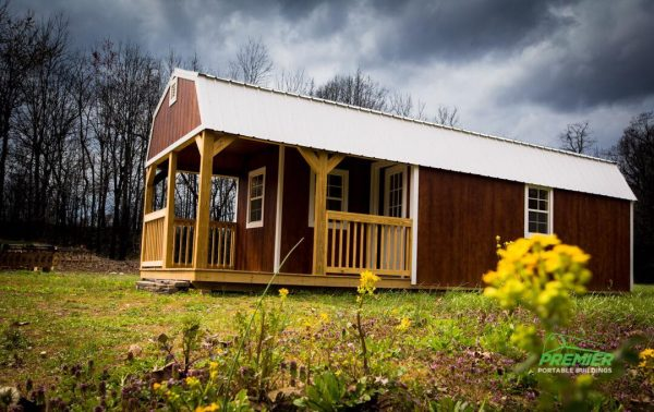 premier lofted barn cabin