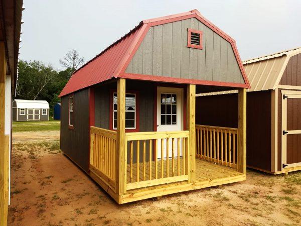 lofted cabin