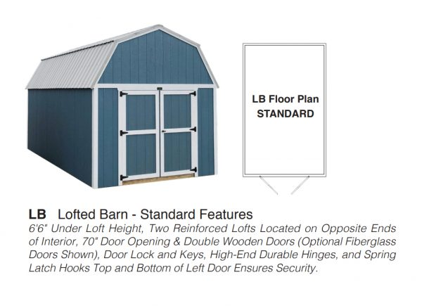 lofted barn floor plan